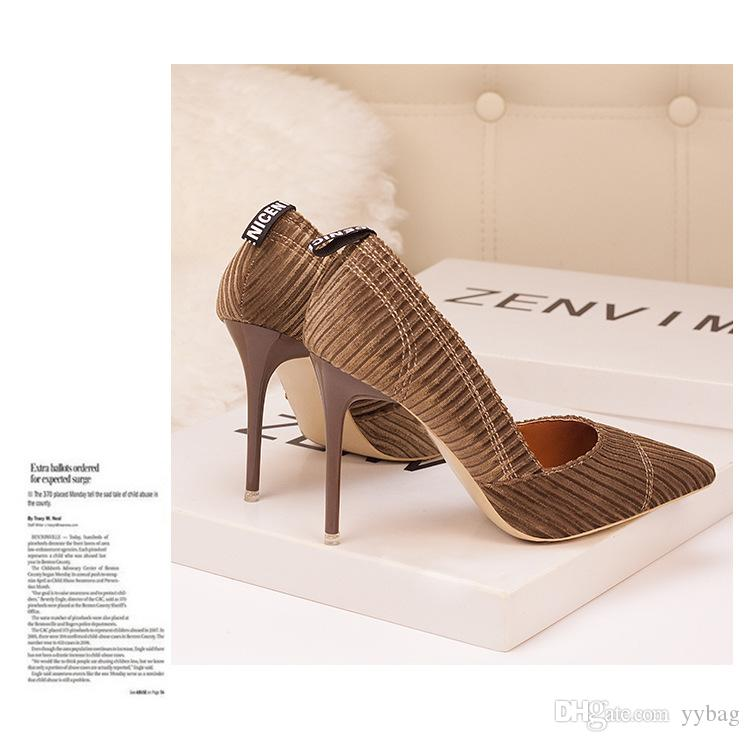 Women shoes direct from the factory China Supply customized design for lady dress shoes pumps high-heel shoe Womens shoes high heel