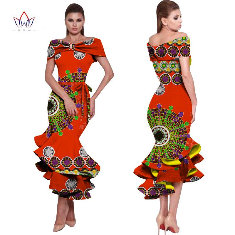 8f60c2f9584f African Dresses For Women 2018 New Style Bazin Riche Fashion Party Dress  Dashiki Sexy Plus Size African Fashion Clothing WY1150 Cheap Evening Dresses  Cheap ...