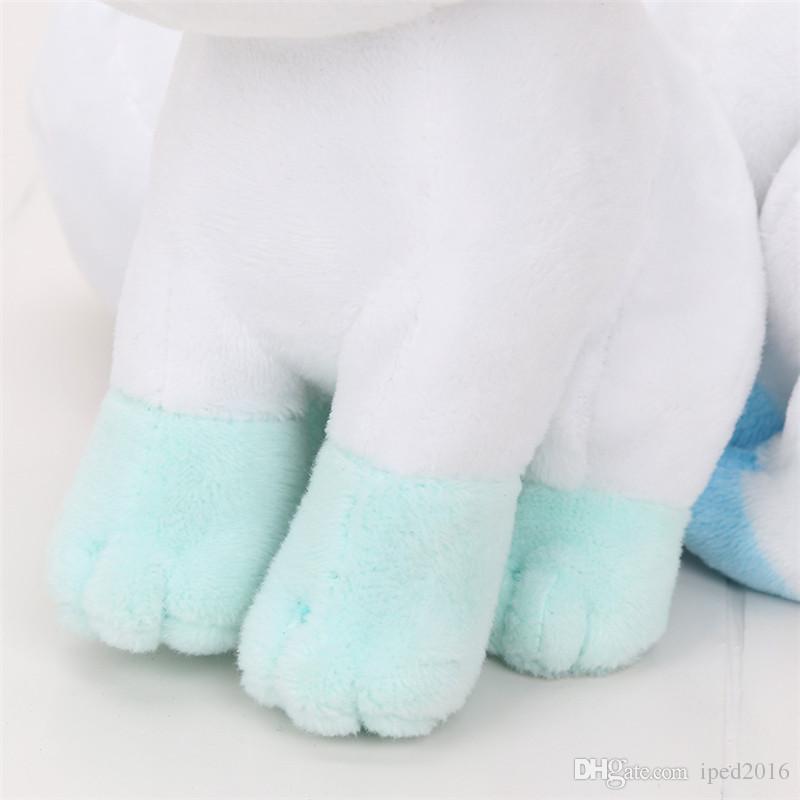 20 cm Tasche puppe Alola Vulpix Plüschtier Gefüllte Puppen Plüsch Puppe Geschenke für Kinder Bester Preis