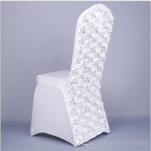 Copertura della sedia di nozze di Rinnovamento della sedia della copertura della sedia del nuovo di cerimonia nuziale della copertura della sedia della copertura della sedia di nozze e dello Spandex le nozze
