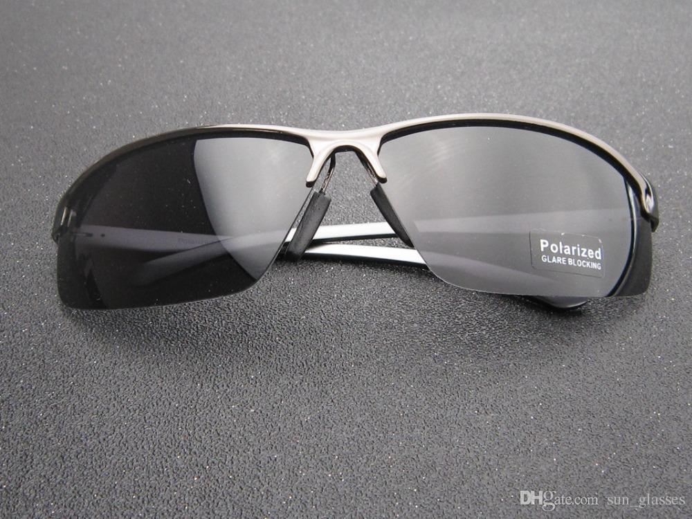 876321d8d Compre 2019 Óculos De Sol Dos Homens Óculos Polarizados Esporte Preto Óculos  De Visão Noturna Óculos De Sol Amarelo Óculos De Sol De Luxo Óculos De Sol  ...