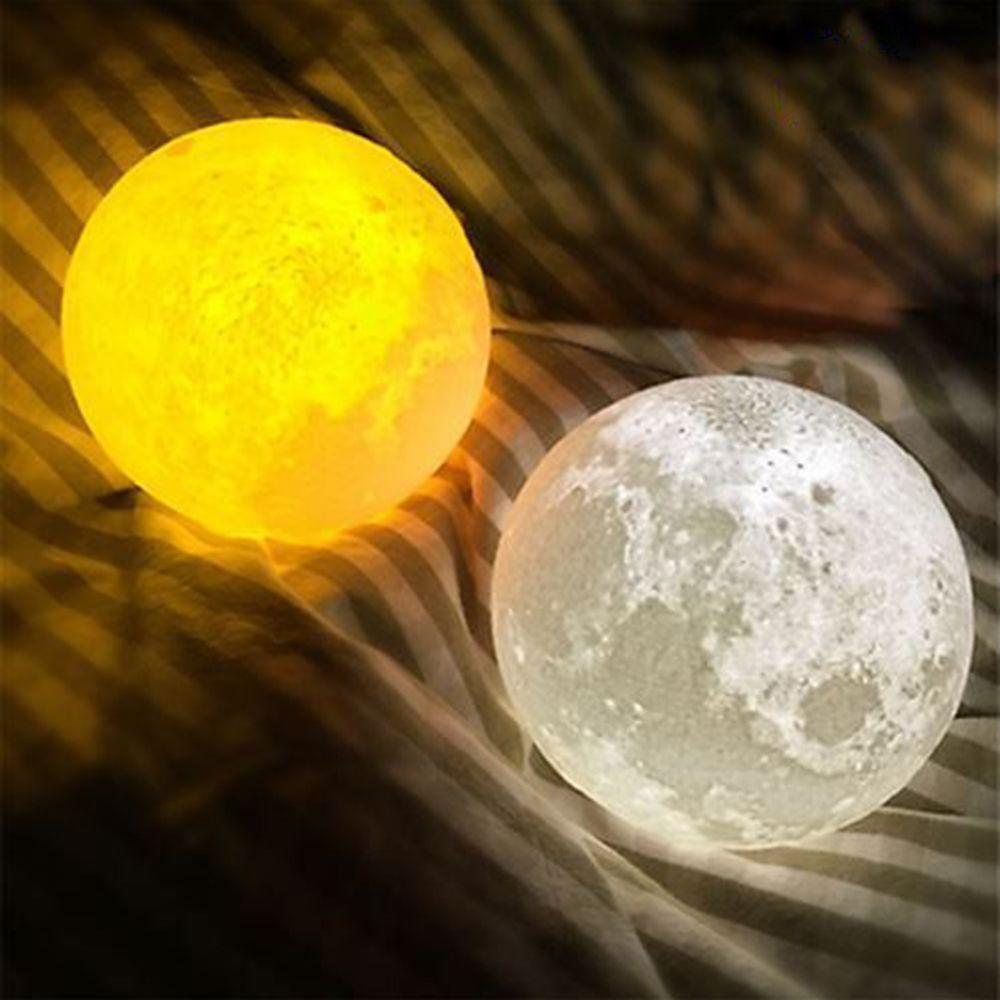 Cheap Sale 3d Usb Led Magical Moon Night Light Moonlight Table Desk Moon Lamp Bedroom Decor Accessories & Parts Cable Winder