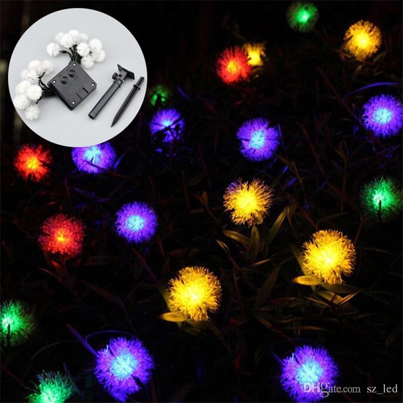 Arbre Cheveux Nuit Lumière Cour Pour Led Boule 20leds De Chambre Ow0N8PknXZ