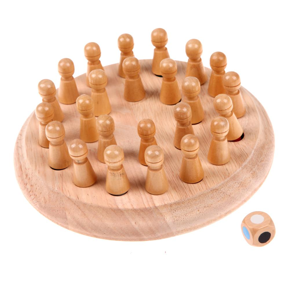 Children Memory Match Wood Funny Wooden Stick Chess Game Toy Montessori Educational Block Toys Study Birthday Gift For Kids