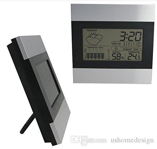 Multifunction weather station clock Weather Indoor Forecast Station Alarm Clock Time Calendar Temperature Hygromete