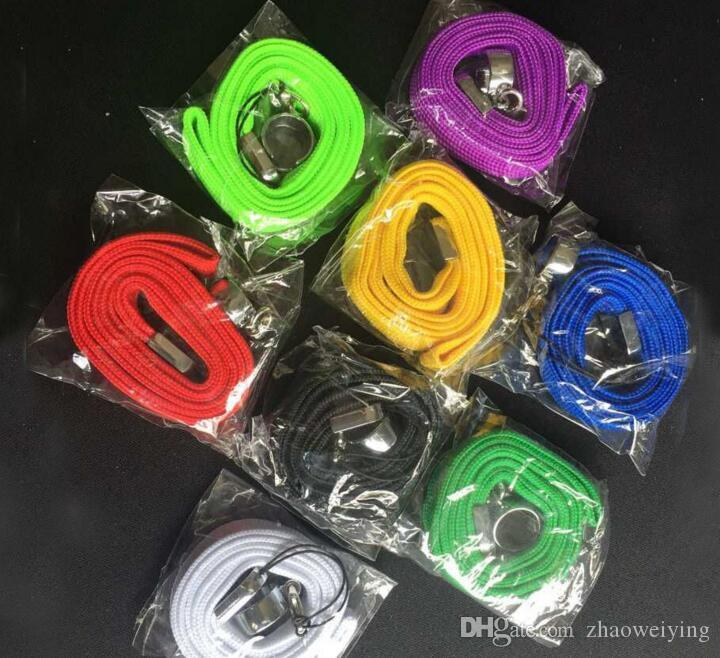 Ego neck lanyard o ring clips ego necklace string lanyard chain strap for ego series ego-t ego-c ego-w battery vapor pen vape e-cigarette