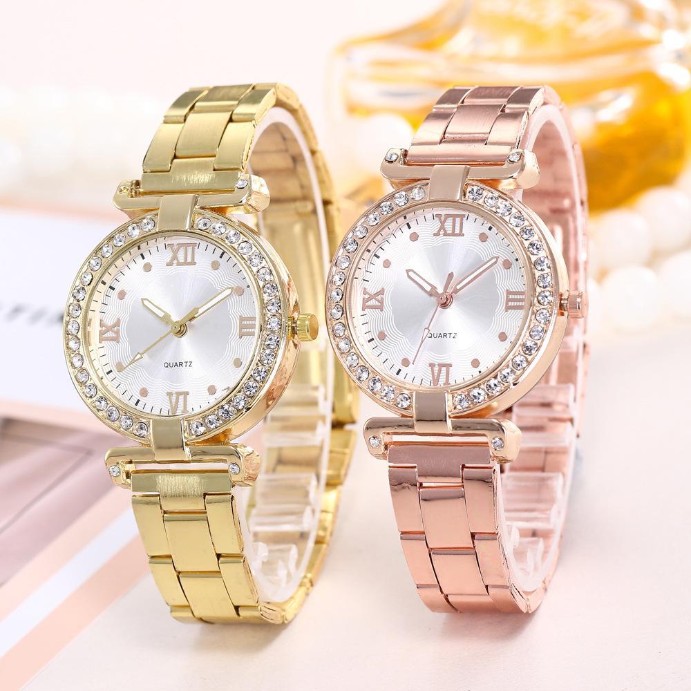 17018674fa7a Compre Relojes Hombre 2018 Reloj Para Mujer Relojes De Pulsera De Oro Top Relojes  De Acero Inoxidable Para Hombre Relojes De Lujo Para Mujer A  29.85 Del ...
