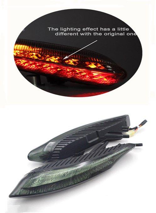 Indicatore di direzione integrato fanali posteriori a LED Ducati Diavel Carbon 2011-2015