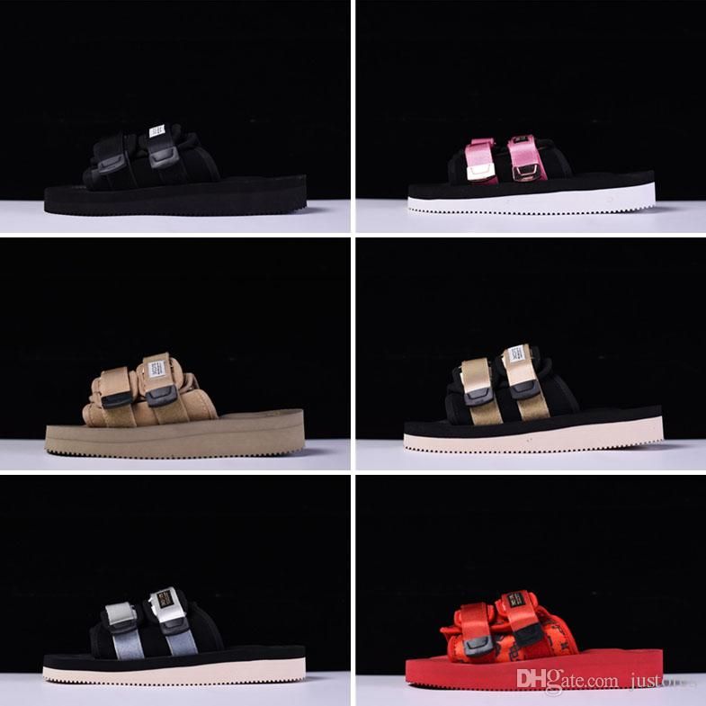 cc501bf063eb 2018 New Arrival CLOT X Suicoke MOTO VS Sandals Fashion Beach Outdoor Sandal  Men And Women Summer Slipper Bamboo Shoes High Heels Shoes From Justores