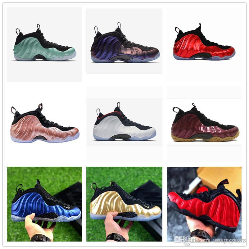4f2cbd3052d Newest Penny Hardaway Basketball Shoes Mens Grey 1 One Pro Mike Rust ...