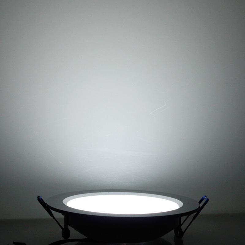 Regulável 7W / 9W / 12W / 15W / 18W / 25W conduziu a iluminação de painel Downlight AC85-265V branco / branco quente iluminação interior