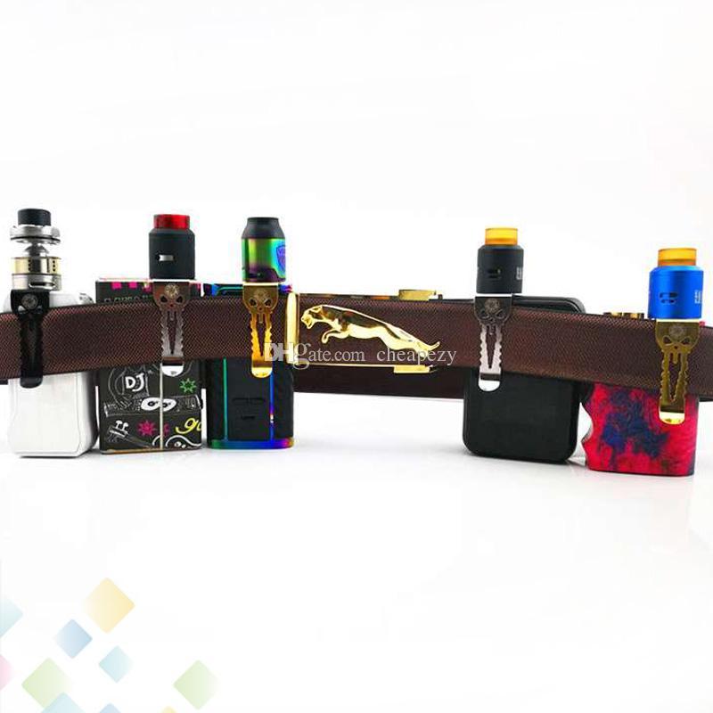 Original Vape Gürtelclips Alienwalker Fit All Devices Box Mods Starke und robuste Edelstahl-Helferhaken Einzelpaket
