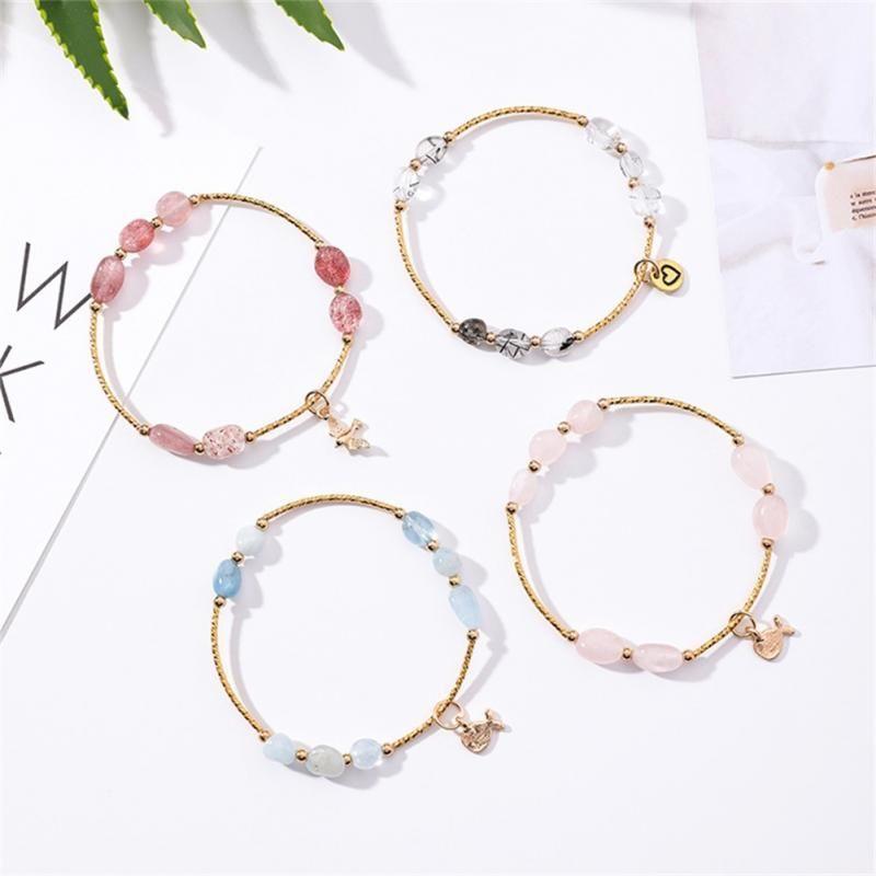 dcb55956294d2 Exquisite Handmade Beads Charm Bracelet Fine Jewerlry Women Alloy Bracelet