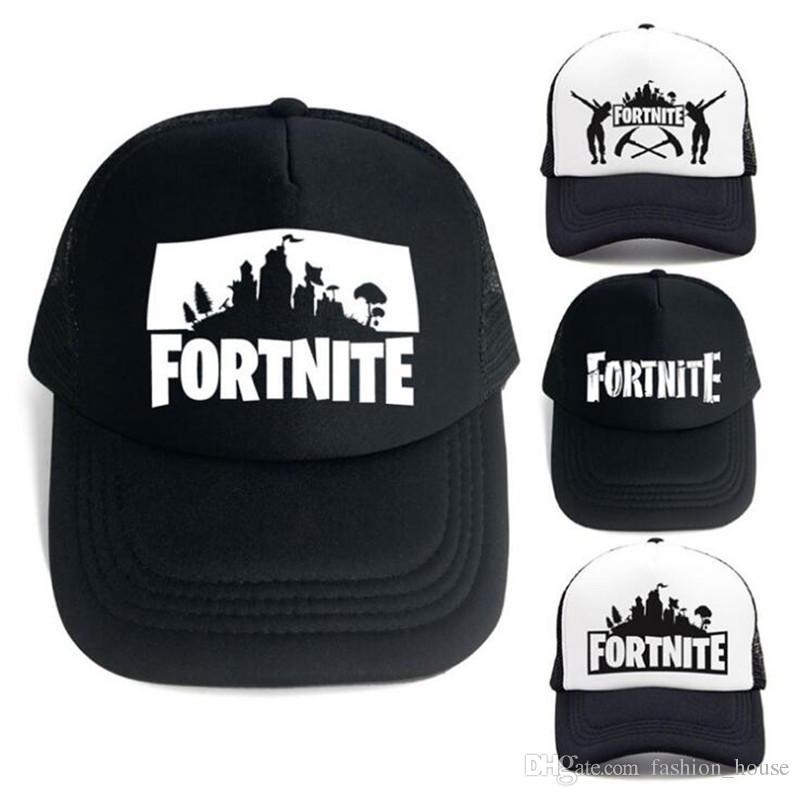 9e00a9d4be9 ... where can i buy 2018 fortnite cap man baseball cap boys girls snapback  summer breathable hats ...