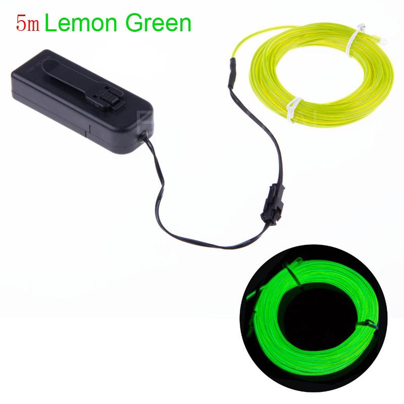 Neon Lamp Led Strip Flexible Neon Led Light Lamp El Wire Rope Strip ...