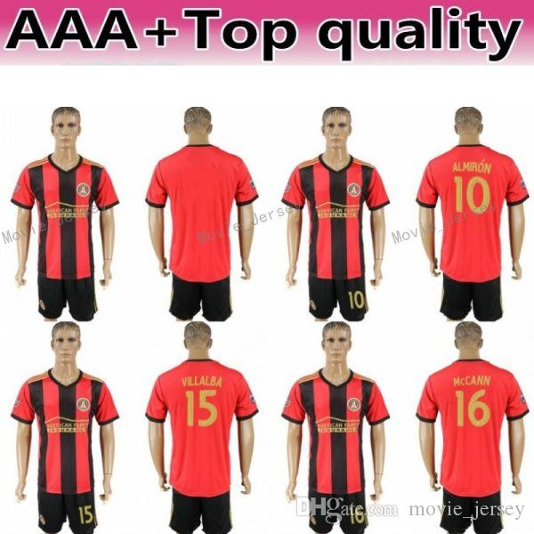 timeless design 94259 ee23c FC Men MLS Soccer Jersey Atlanta United Set 10 Miguel Almiron 7 Josef  Martinez 4 Greg Garza Football Shirt Kits Uniform Team Red