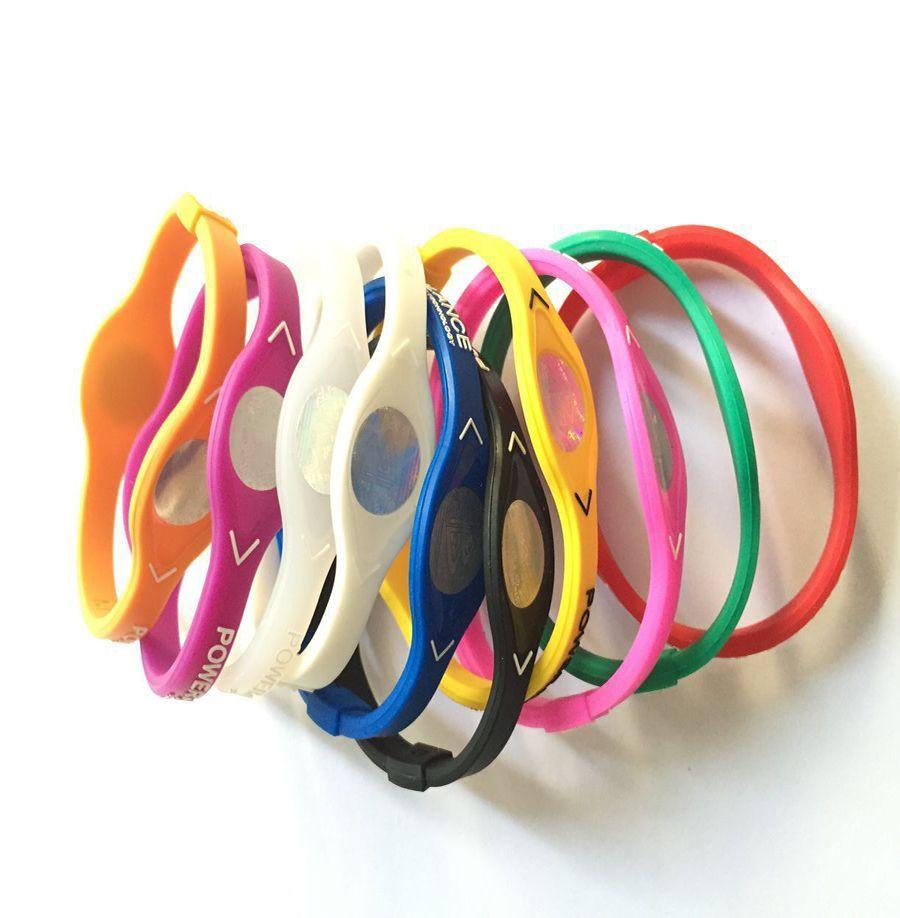 Hot Sale Balance Bracelet Silicone Wristband Basketball Sports Wristband Power Bands Balance Health Energy Silicone Bracele Energy Sport Ban