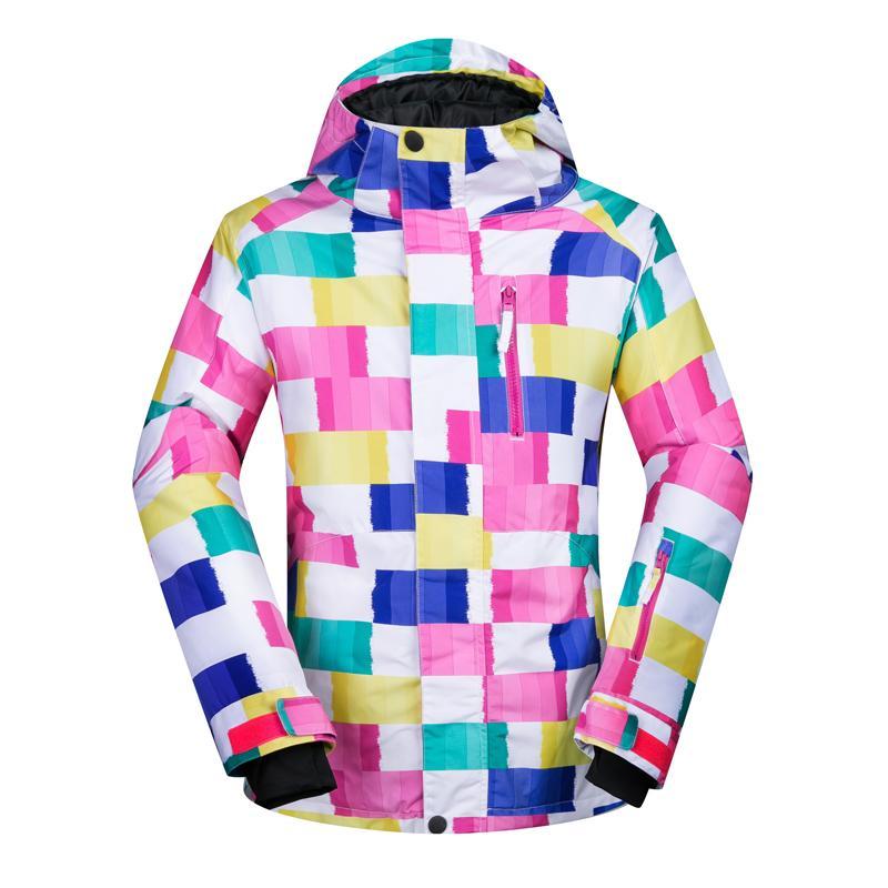 368374c70 2018 Ski Jacket Women Waterproof Windproof Ski Wear Skiing Jacket ...