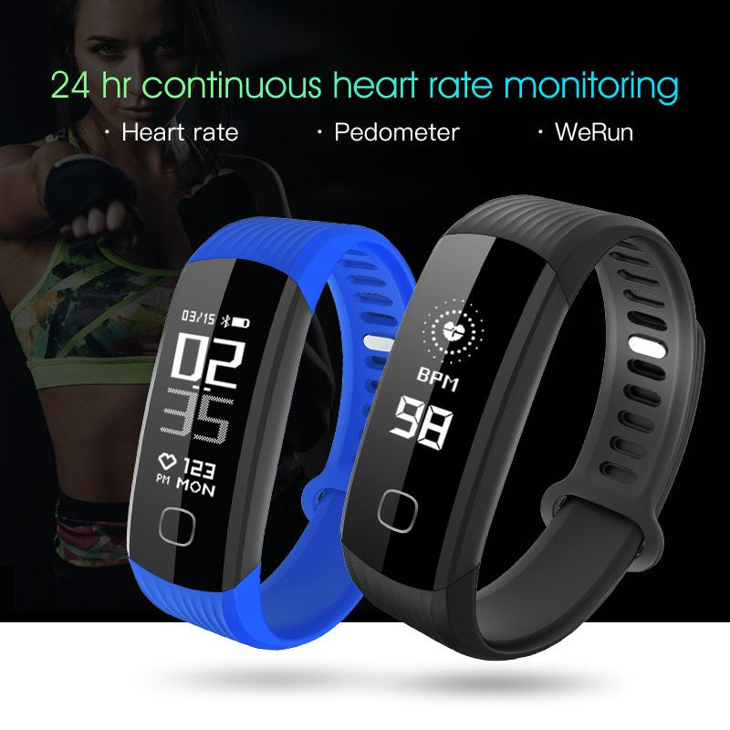 a7b5a116e86 New 0.96 R8 Fitness Tracker Heart Rate Monitor Activity Tracker Bluetooth  Smart Wristband Waterproof Smart Bracelet Smart Watches Bluetooth Smart  Watches R8 ...