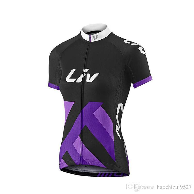 2018 Liv Pro Team Jersey De Ciclismo Talla Xs 3xl Manga Corta Bike Wear  Camisa De Secado Rápido Mtb Bicycle Clothing Tops Nuevos Por Haochizui9527 c5b4d696464c2