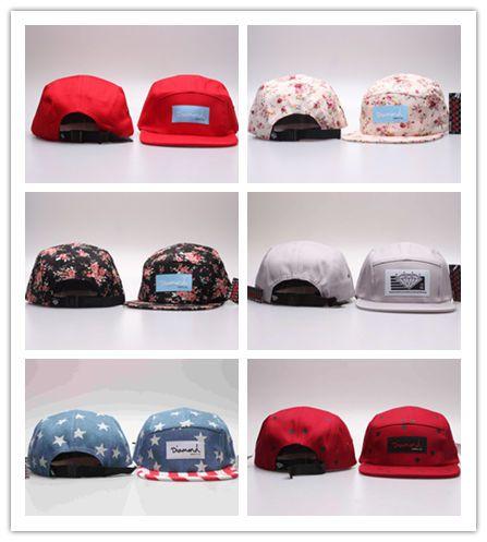 9a0432abddf9d Top Sale Wholesale 20 Style Five 5 Panel Diamond Snapback Caps Hip Hop Cap  Hats For Men Casquette Gorras Planas Bone Aba Reta Toca Cap Store Custom  Fitted ...