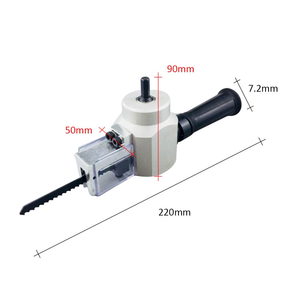 Power Tool Accessories Double Head Nibble Metal Cutting Sheet Nibbler Saw Cutter Adjustable Drill Attachment Cutting Tools