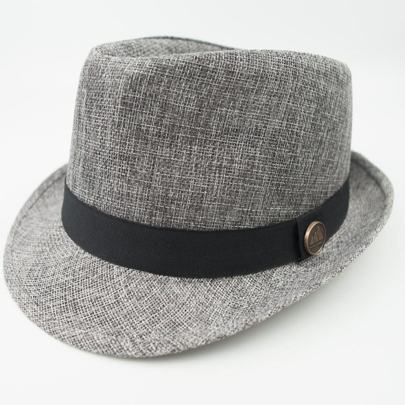 Linen Fabric Stingy Brim Fedora Dad Men Designer Hat Women Ladies Hats For  Summer Beach Holiday Classic Jazz Hats EPU MH1819 UK 2019 From Epuhats e700ac00f9b