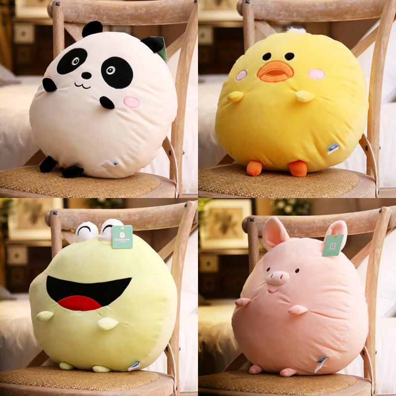 f26d06542965 candice guo! Super cute plush toy lovely cartoon animal panda duckpig soft  stuffed cushion pillow birthday Christmas gift