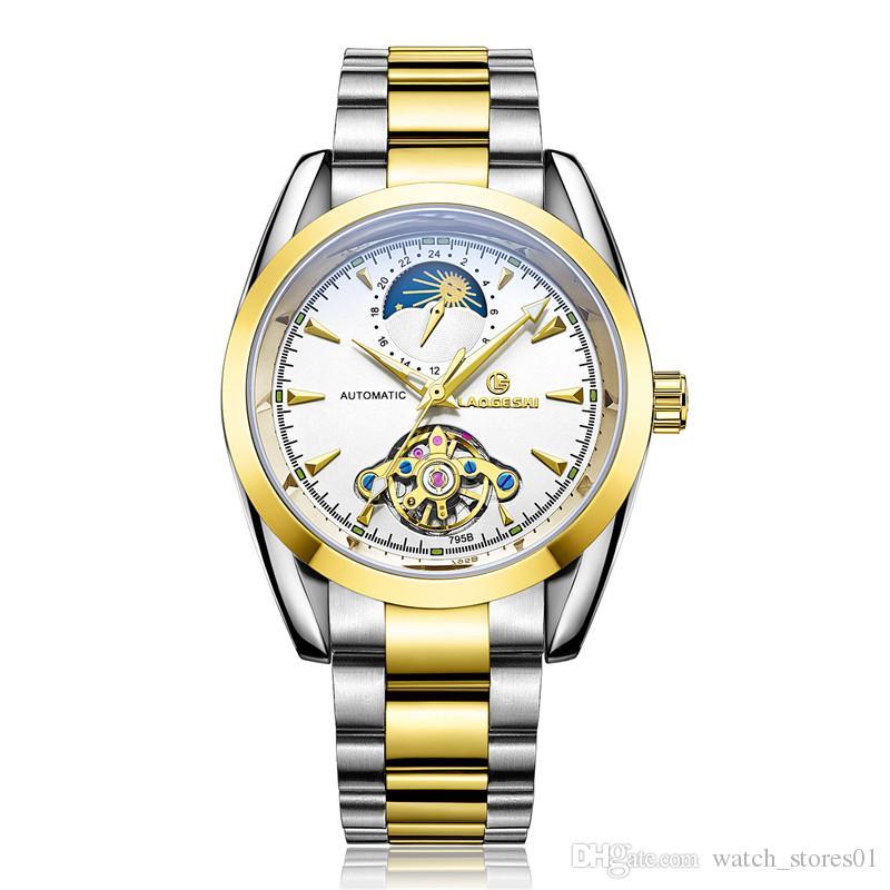 33f736827 Cheap Luxury Winner Automatic Mechanical Watch Best Mens Platinum  Mechanical Watch