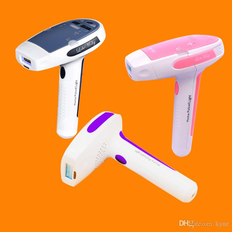 DHL SHIP HR001 MOQ 1 가정용 레이저 제모 기계 영구 머리 제거 피부 회 춘에 대 한 두 개의 IPL Elpilator 함께 제공
