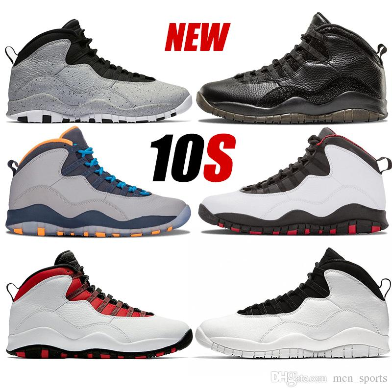 3adc0b04b7d190 New 10 Cement Westbrook Red Blue I m Back White Black Men Basketball Shoes  10s Powder Blue Cool Grey Steel Sneakers High Quality 10s Mens Shoe  Basketball ...