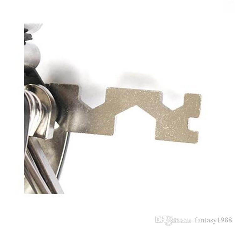 Faltrad Repair Tools 16 in1 Fahrrad Reparieren Radfahren Tool Kit Schraubenschlüssel Schraubendreher Kette Kohlenstoffstahl Zyklus Multifunktionswerkzeuge