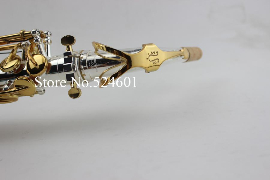 YANAGISAWA A-992 Eb Sassofono contralto Argento placcato corpo e chiave in oro placcato aspetto perfetto E Flat strumenti musicali professionali con custodia