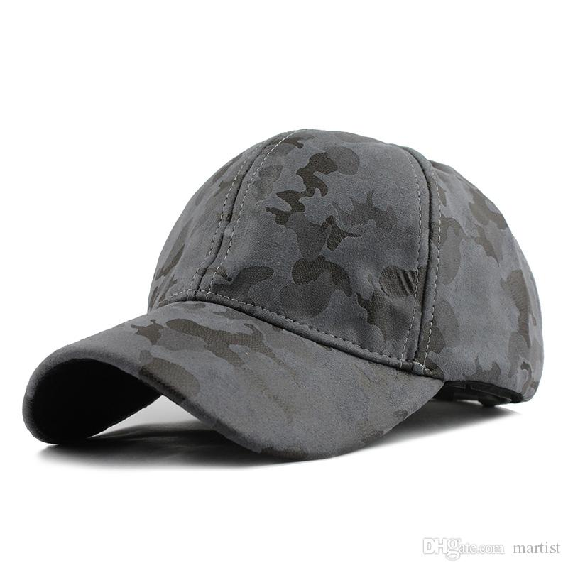 Bulk Won t Let You Down CAMO PU Gorras Baseball Caps Bucket Hat ... 3210c7038b3e