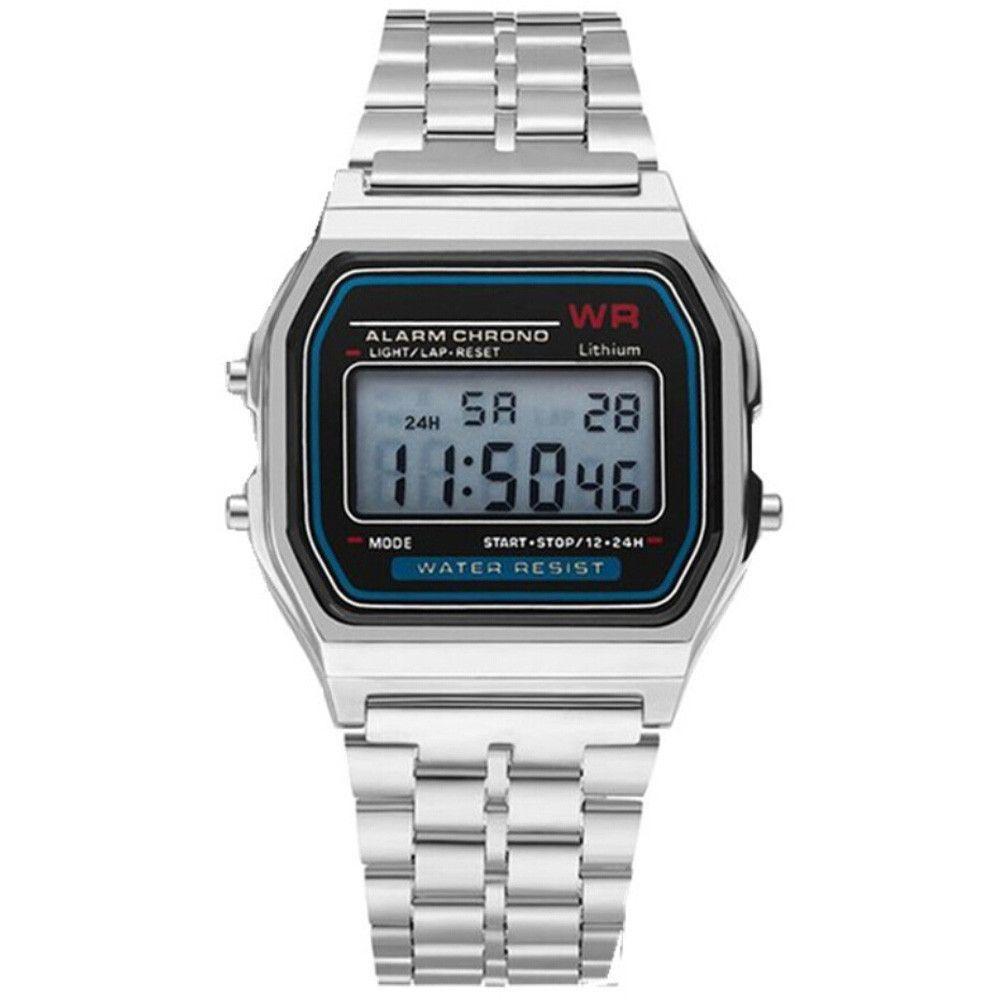 8b88c6d983a LED Digital Quartz Wrist Watch Dress Golden Wrist Watches Women Men For  Kids Clock Business Men Boys Sports Traveling Fashion Watches Fine Watches  From ...