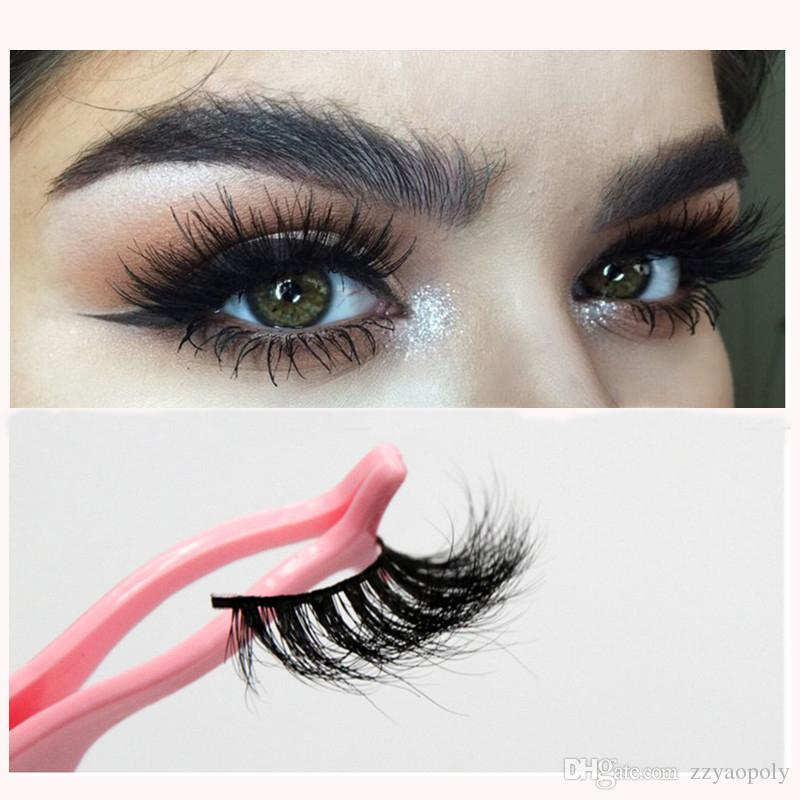 c7cb0ce7be0 3D Mink Eyelashes HandMade False Eyelashes Long Lasting False Lashes ...