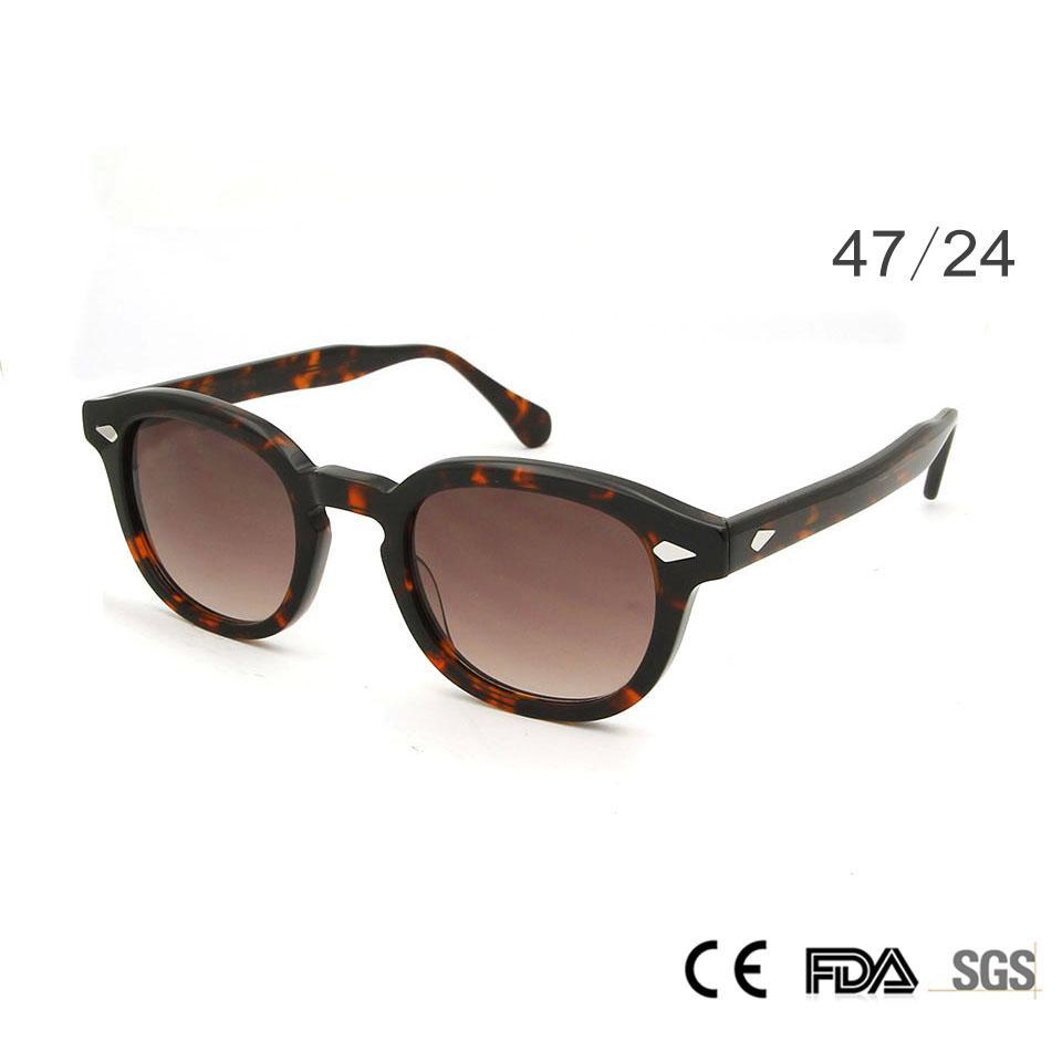 2498080c4 Compre Sorbern Moda Retro Rodada Óculos De Sol Das Mulheres Dos Homens  Clássico Óculos De Acetato De Designer Gradual Lens Círculo Óculos De Sol  Óculos De ...
