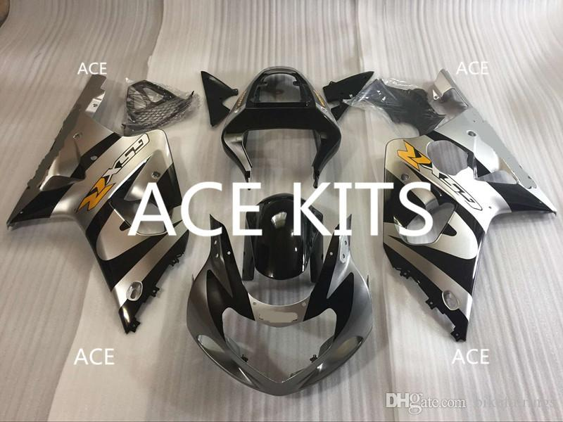 New Hot ABS Plastic motorbike Fairing Kits 100% Fit For suzuki GSX-R1000 K1 2000 2001 2002 GSX-R1000 K1 00 0102 Black QQ10
