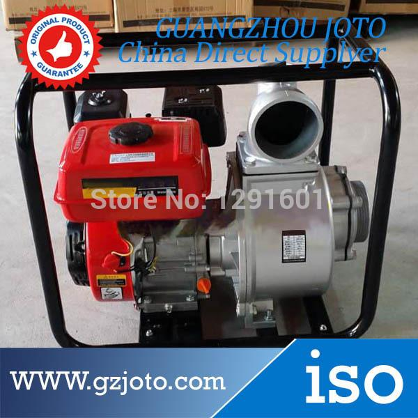 4inch Agricultural irrigation Gasoline Water Pump 7 5HP Portable Gasoline  Engine Water Pump