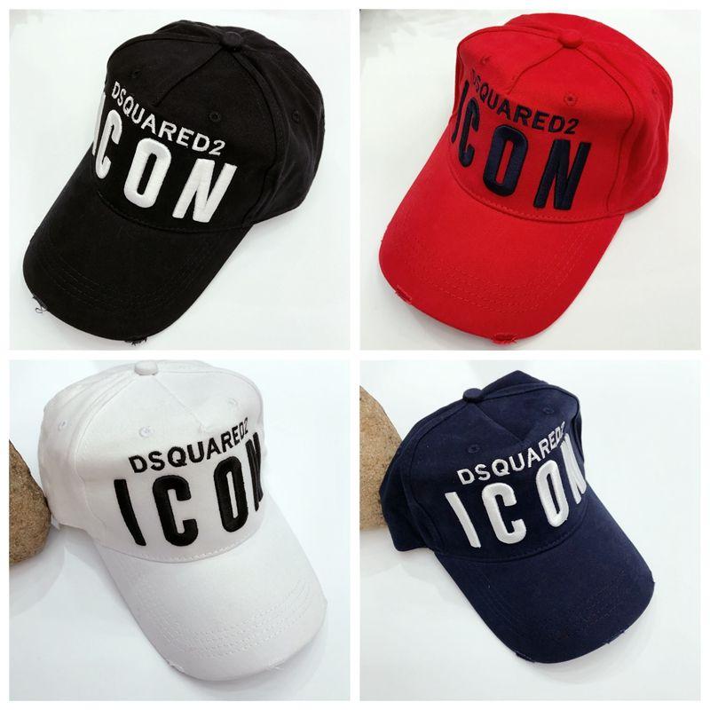 2018 New ICON D2 Hat Popular Baseball Cap Embroidery Curved Brim Hat Hip  Hop Men Women Snapbacks Hats Brand Designer Sports Strapback Caps Cap Hat  From ... 11865e94a5