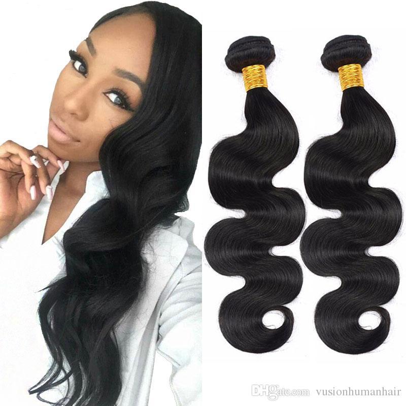 Body Wave Weave Cheap Human Hair 3 Bundles 12 14 16 Inch Unprocessed Double Wefts Brazilian Malaysian Indian Peruvian Cheap Human Hair