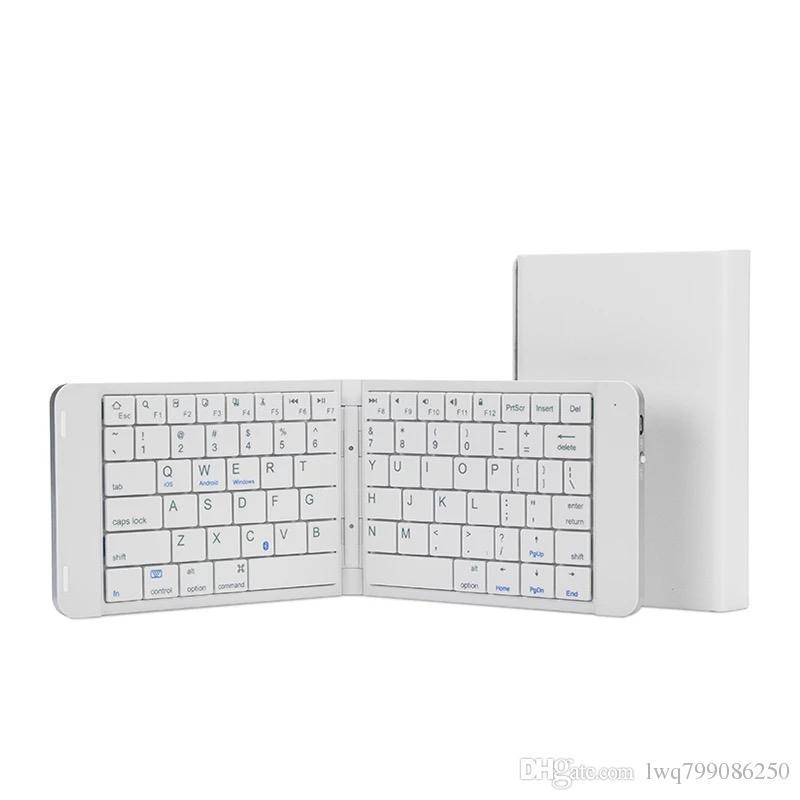 nouveau clavier Bluetooth pliant, téléphone tablette Android Android, mini portable, clavier sans fil, 10 pièces pour hommes et femmes