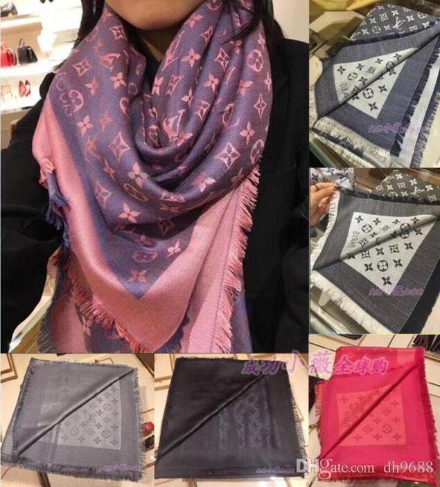 Großhandel Top Qualtiy Luxus Marke Schal Brief Muster Frauen Schal ...