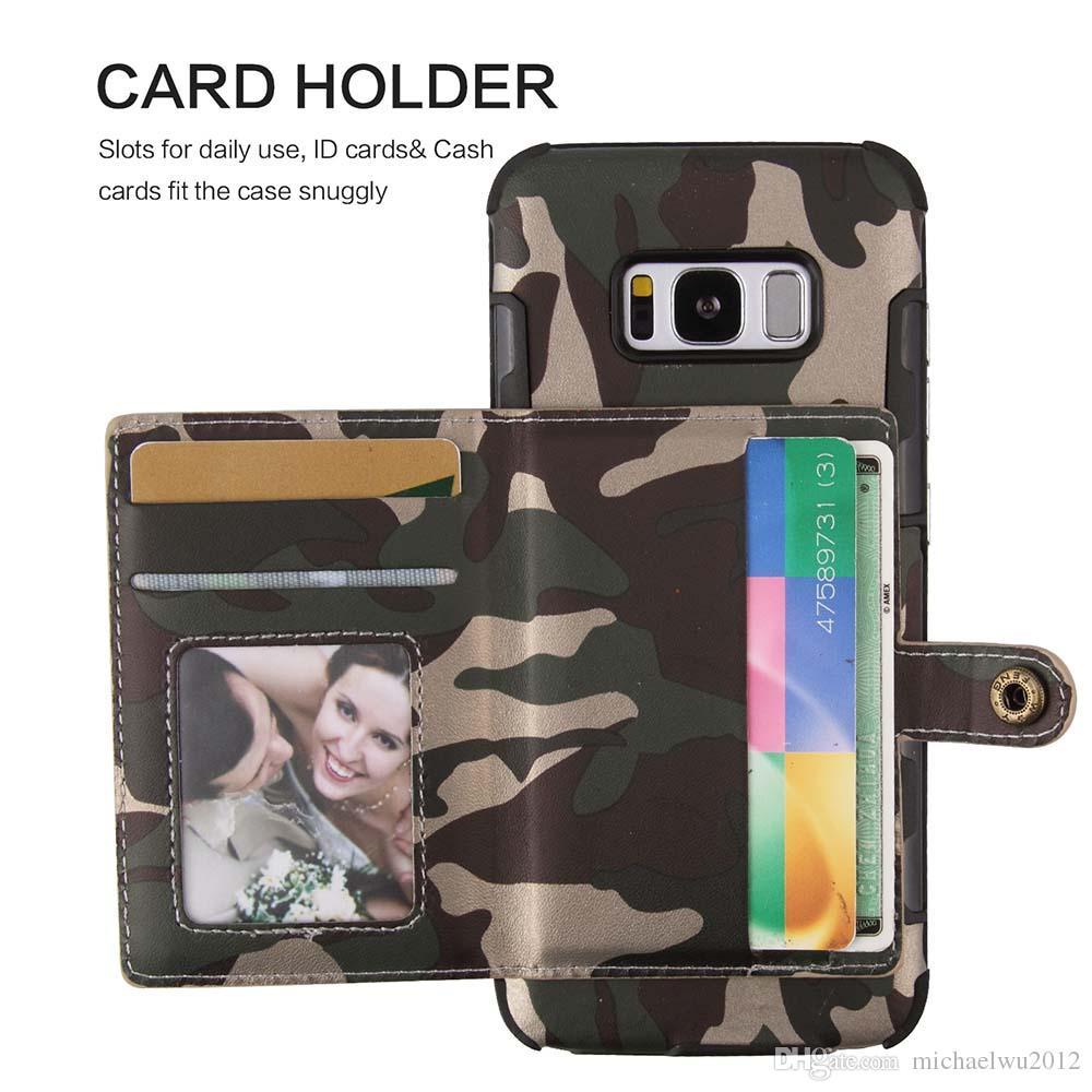 coque samsung s7 camouflage porte carte