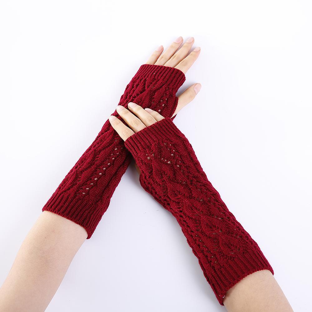 Großhandel Winter Handschuhe Frauen Handgelenk Häkeln Stricken