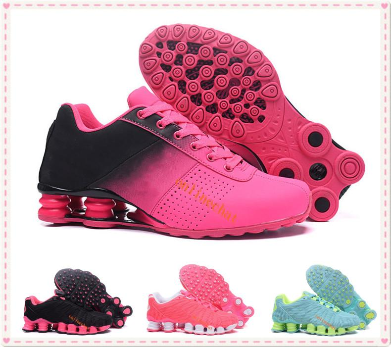 Fashion Women Classic Brand Shox Tlx Avenue Deliver Oz Running Shoes Sports  Trainer Cushion Femals Chaussures Femme Sneakers Shox Zapatillas Mujer Women  ... bd95af367