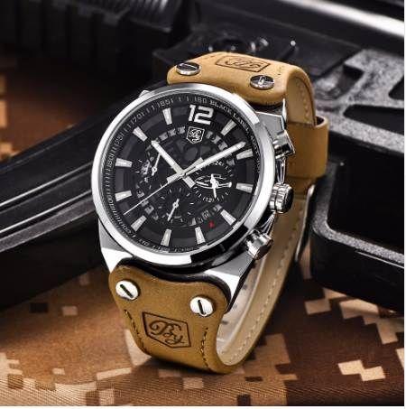 af0e4d4116a BENYAR Sport Men Watches Skeleton Military Chronograph Quartz Man Outdoor  Big Dial Watch Army Male Clock Relogio Masculino SAAT Wrist Watches Online  Wrist ...