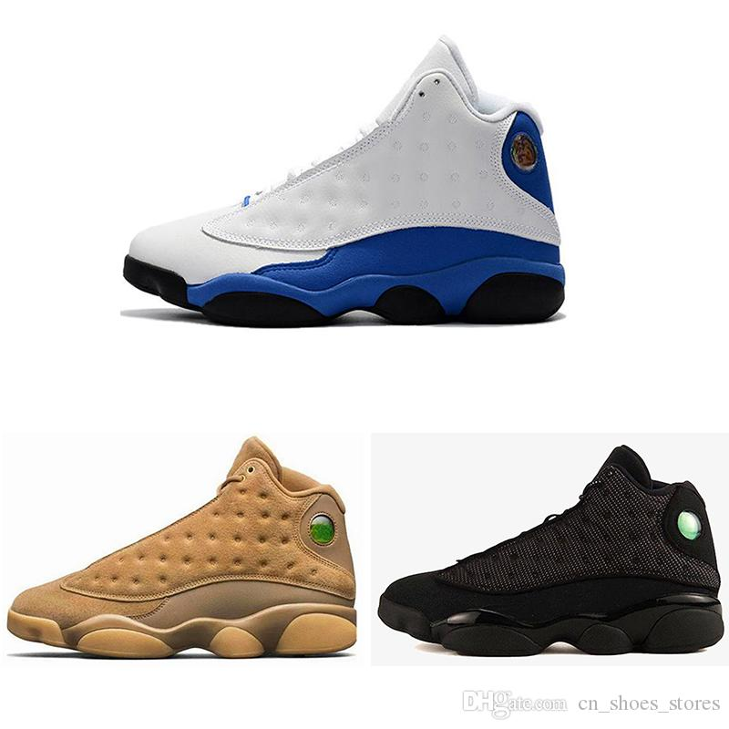 b853e4417928 New Arrive Popular 13 Design Hyper Royal GS Italy Blue Olive Men Basketball  Shoes 13s Men Sports Sneaker Athletics Shoes Size8.0 13 Mens Shoes Sneakers  From ...