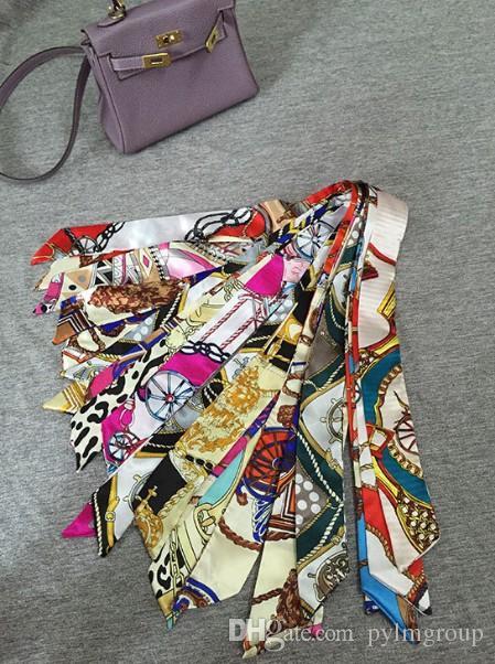 ca6f2750e Compre Bag Scraf Sacos De Seda Alça Bandanas Bagagem Lady Casamento Muffler  FR Carteira Bolsa Bolsa De Mulheres Bolsa De Ombro Paris US Tote EUR De ...