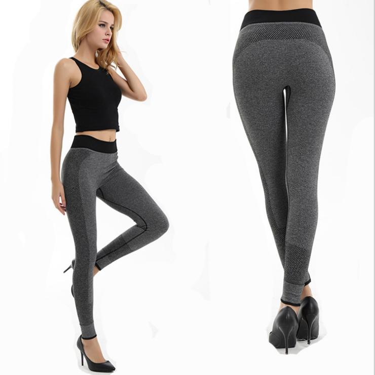 2c6f533b94dbc 2019 Women'S Tight Yoga Pants Breathable Outdoor Exercise Pants Sweat  Absorbing Stretch Quick Drying Durable Sexy Tight Trousers From Java2013,  ...